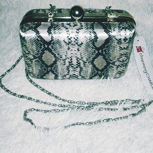 Charming Charlie Snake Print Bag